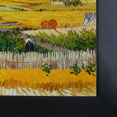Tori Home The Harvest Canvas Art by Vincent Van Gogh Impressionism