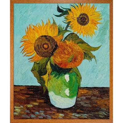 Van Gogh Sunflowers, First Version Canvas Art