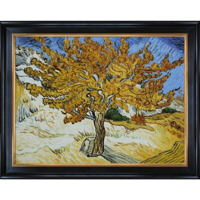 Tori Home Van Gogh The Mulberry Tree Canvas Art