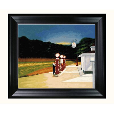 Tori Home Hopper Gas, 1940 Canvas Art