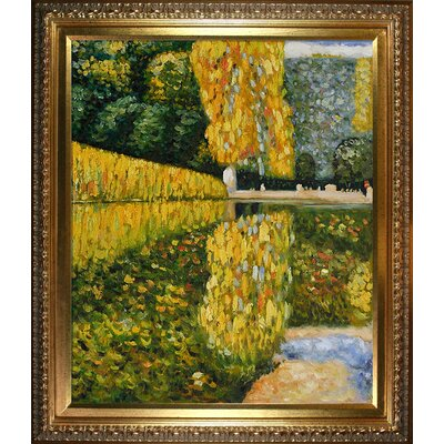 Tori Home Klimt Schonbrunn Park Canvas Art