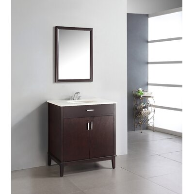 Simpli Home 30&quot; Urban Loft Bathroom Vanity