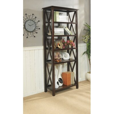 Simpli Home Adrien 5 Shelf Bookcase