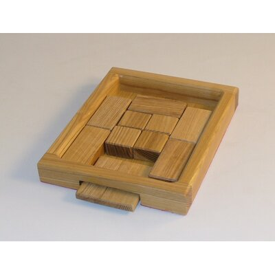 Square Root Games Square Root Wood Puzzle Game