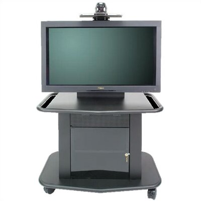 Avteq Plana Series 32&quot; Tall Metal Plasma Cart - Holds a 42&quot; Screen