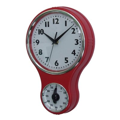Control Brand Kitchen Clock with Timer