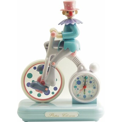Control Brand Peter Clown Alarm Clock