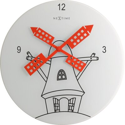 Control Brand Windmill Wall Clock