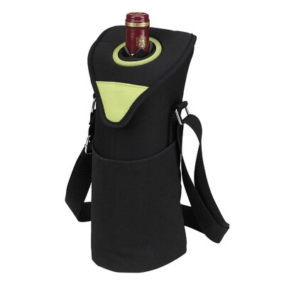 Picnic At Ascot Neo Single Bottle Tote in Apple