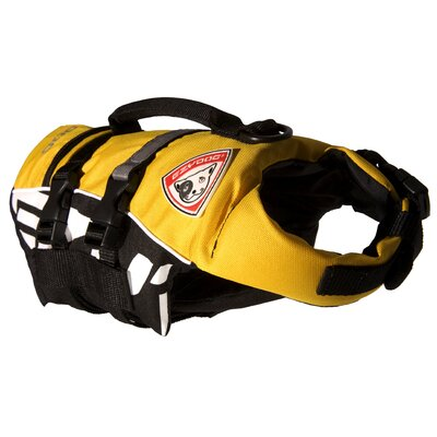 EZYDog DFD-Micro Dog Floatation Jacket Device in Yellow