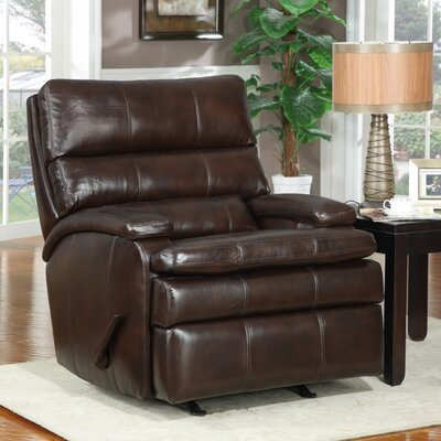 At Home Designs Belmont Leather Recliner