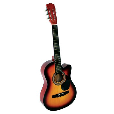 Stedman Pro Acoustic Cutaway Guitar with Gig Bag and Accessories in Sunburst