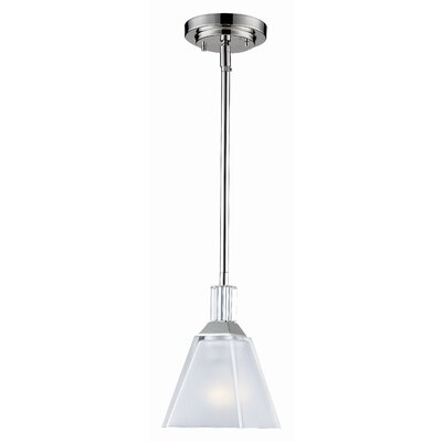 Z-Lite Luxe 1 Light Mini Pendant