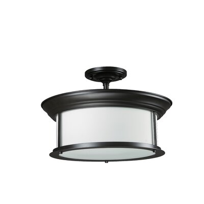 Z-Lite Sonna 3 Light Semi-Flush Mount