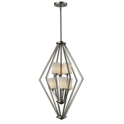 Z-Lite Elite 6 Light Foyer Pendant