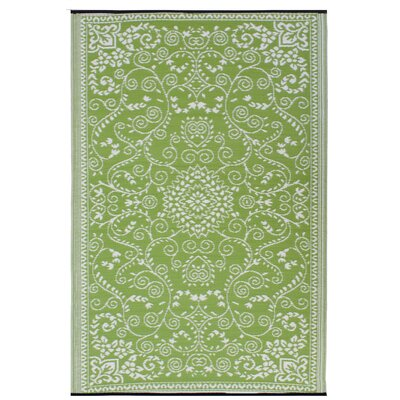 Fab Rugs World Murano Lime Green/Cream Rug