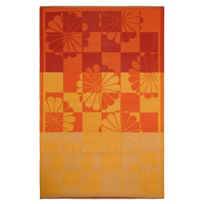 World Tahiti Orange/Yellow Rug