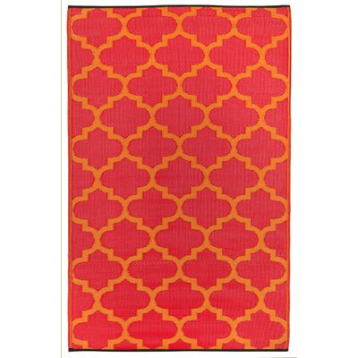 Tangier Orange Peel/Rouge Red World Rug