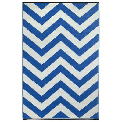 Fab Rugs Laguna Regatta Blue World Rug
