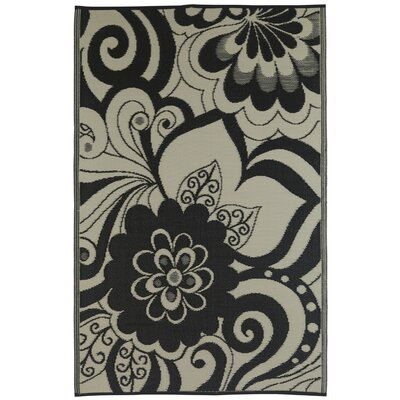 Fab Rugs World Maui Black/Cream Rug