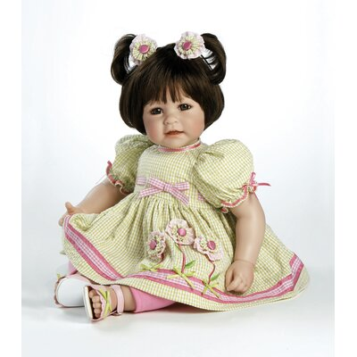 Adora Dolls Baby Doll &quot;Flowers For A Friend&quot; Brown Hair / Brown Eyes
