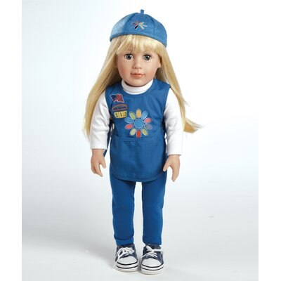 Adora Dolls Play Doll Chloe - Girl Scout Daisy Doll and Costume