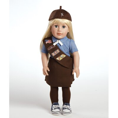 Adora Dolls Play Doll Chloe - Girl Scout Brownie Doll and Costume