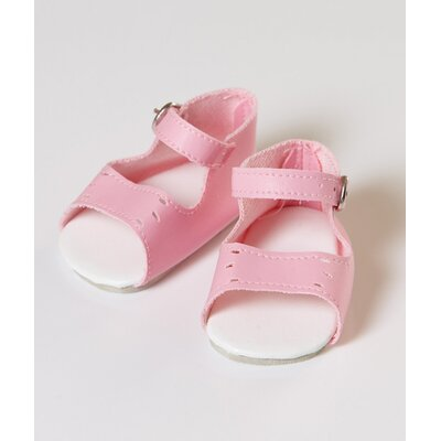 "Adora Dolls 20"" Doll Shoe Sandal in Pink"