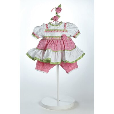 Adora Dolls 20&quot; Baby Doll Polka Dot Rose Costume