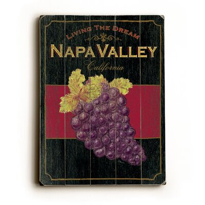 Napa Valley Planked Wood Sign - 20