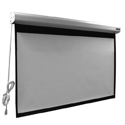 "Vutec Matte Grey Elegante Motorized Screen - 120"" diagonal Video Format"
