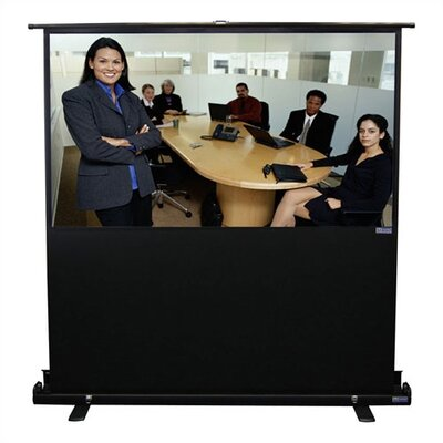 Vutec 01-EVPVP3460 Porta-Vu Traveller Portable Projection Screen - 34 x 60""