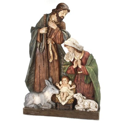 Regency International Nativity and Animals Figurine