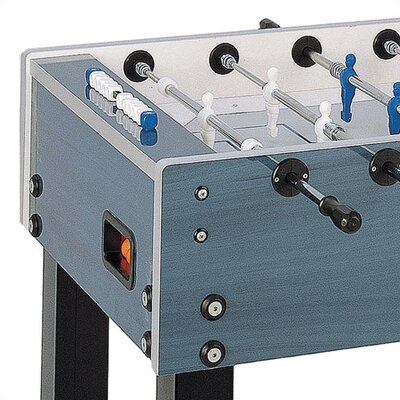 Garlando G-500 Weatherproof Outdoor Foosball Table in Blue