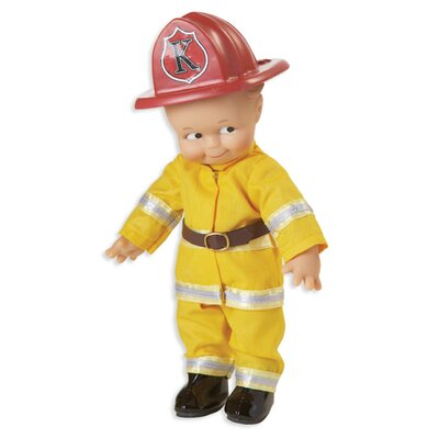 Kewpie Fire Fighter Doll