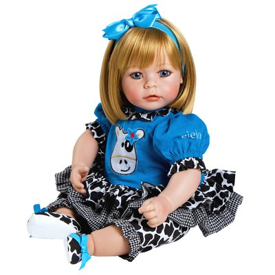 "Charisma Adora ""E.I.E.I.O"" Doll with Sandy Blond Hair / Blue Eyes"