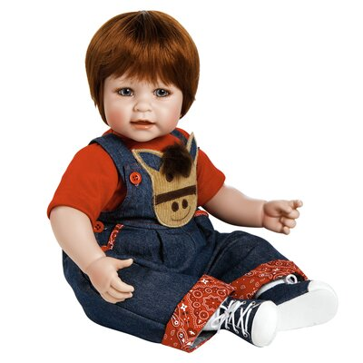 "Charisma Adora ""Giddy Up-Boy"" 20"" Doll with Red Hair / Blue Eyes"