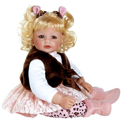 Charisma Adora &quot;Giggle and Growls&quot; Doll with Light Blond Hair / Blue Eyes