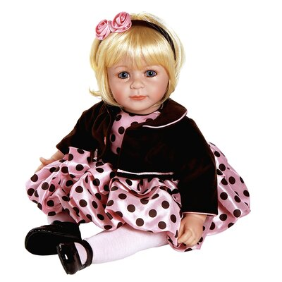 Charisma Adora &quot;Pink Posh&quot; Doll with Light Blond / Blue Eyes