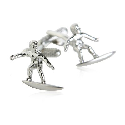 Cuff-Daddy Surfer Cufflinks