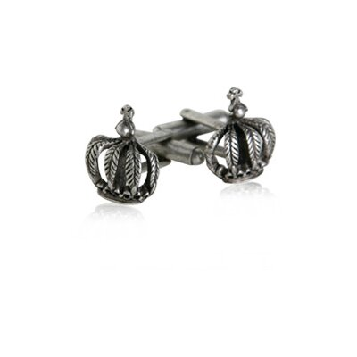 Cuff-Daddy Crown Cufflinks