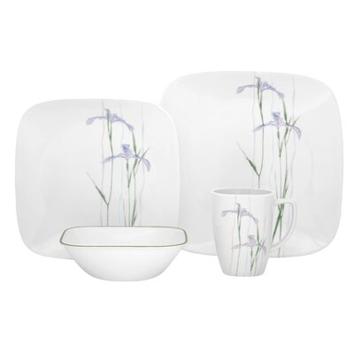 Corelle Shadow Iris Dinnerware Set