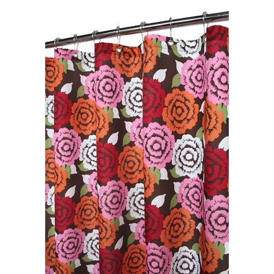 Prints Polyester Marigold Shower Curtain