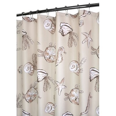 Watershed Prints Polyester Sea Life Shower Curtain