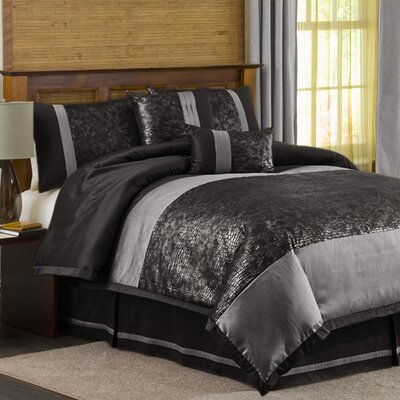 Special Edition by Lush Decor Metallic Animal 6 Piece Comforter Set
