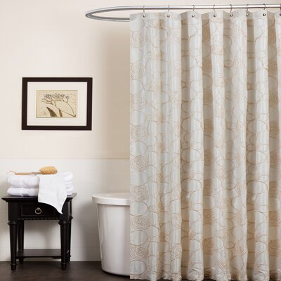 Special Edition by Lush Decor Circle Charm Polyester Shower Curtain