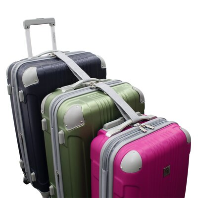 Beverly Hills Country Club Malibu Hardsided 3 Piece Spinner Luggage Set