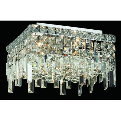 Elegant Lighting Maxim 5 Light Semi Flush Mount