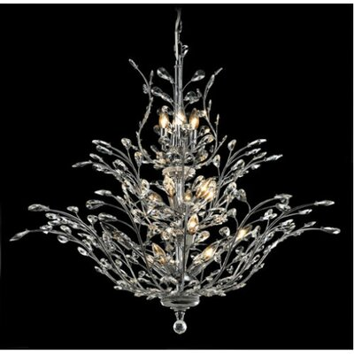 Elegant Lighting Orchid 18 Light  Chandelier