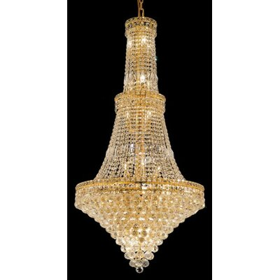 Elegant Lighting Tranquil 34 Light Chandelier